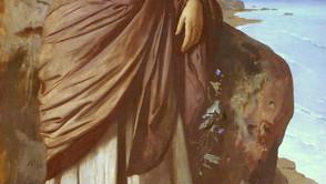 Anselm Feuerbach - By the Sea (Modern Iphigenia)