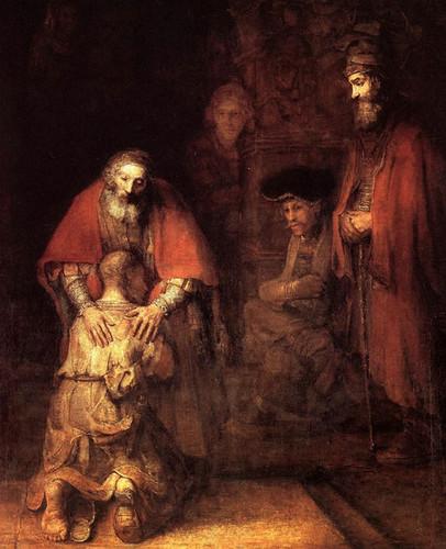Rembrandt - Rückkehr verlorener Sohn