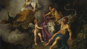 Pieter Lastman - Juno discovers Jupiter and Io