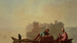 George Caleb Bingham - Fur Trader on the Missouri River