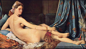 Jean-Auguste-Dominique Ingres - The Great Odalisque