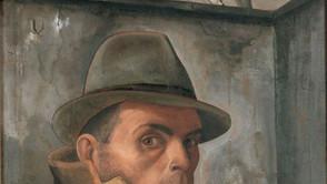 Felix Nussbaum - Self Portrait with Jewish Passport