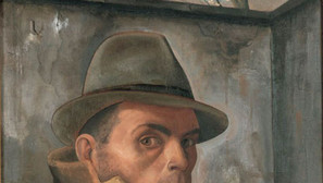 Felix Nussbaum - Self Portrait with Jewish Passport