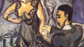 Ernst Ludwig Kirchner - Couple in the room