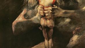 Francisco de Goya - Saturn devours his children