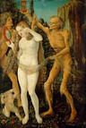 Hans Baldung Grien – Die drei Lebensalter und der Tod Öl auf Leinwand, 1510, 48 x 32,5, Kunsthistorisches Museum in Wien