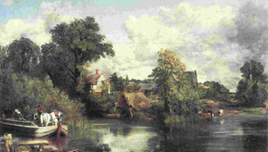 John Constable - The White Horse