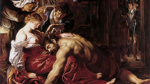 Peter Paul Rubens - Samson and Delilah