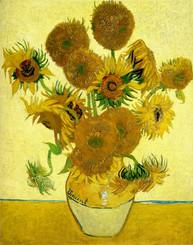 Vincent van Gogh - Vase mit 15 Sonnenblumen  Öl auf Leinwand, 1888, 92,1 x 78 cm, National Gallery in London