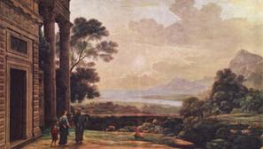 Claude Lorrain - The Expulsion of Hagar