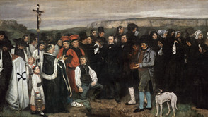 Gustave Courbet - A Burial in Ornans