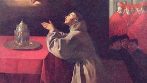 Francisco de Zurbarán - St. Bonaventure at Prayer