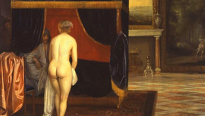 Eglon Hendrik v.d. Neer - The Wife of Kandaules discovers Gyges