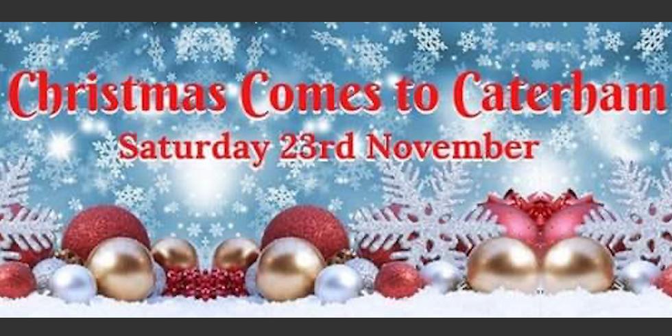 Christmas comes to Caterham