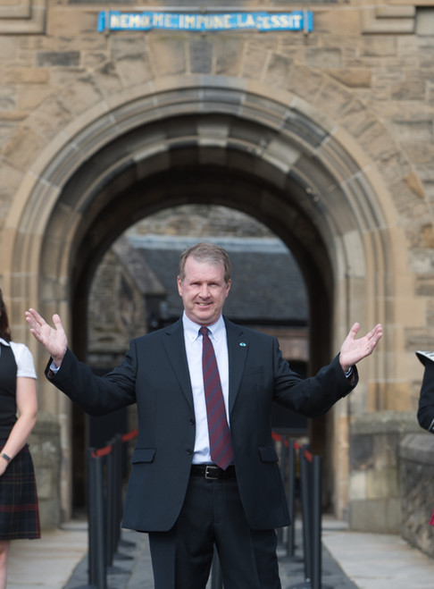 Historic reopening as Edinburgh Castle once again welcomes visitors