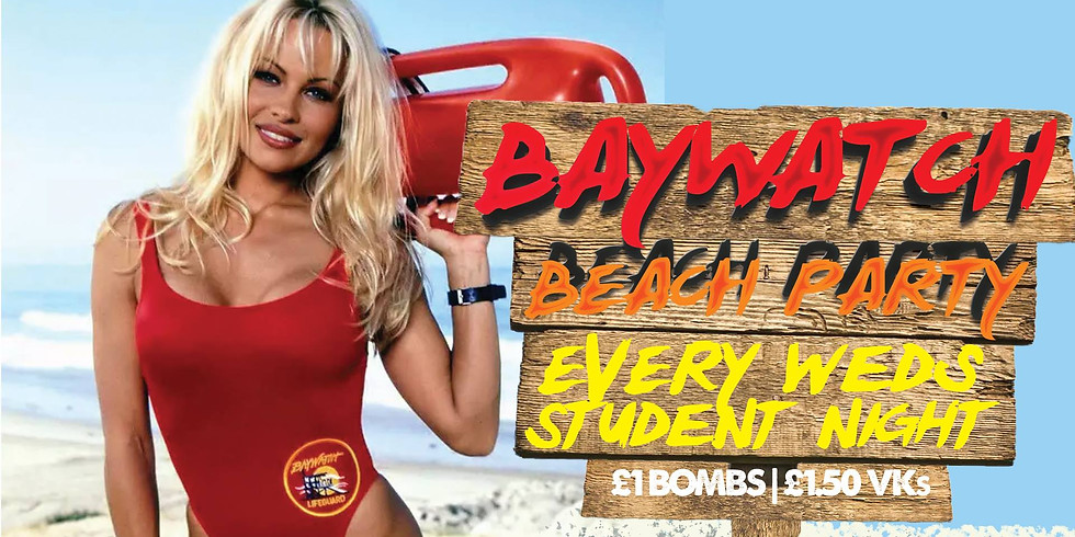Student Baywatch Beach Party!