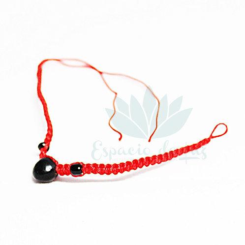 Pulsera Roja de Protección Semilla Huaynuro