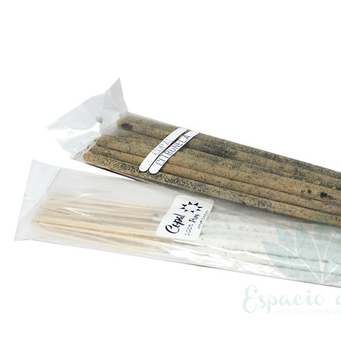 Copal Almizcle y Citronella 100% Natural