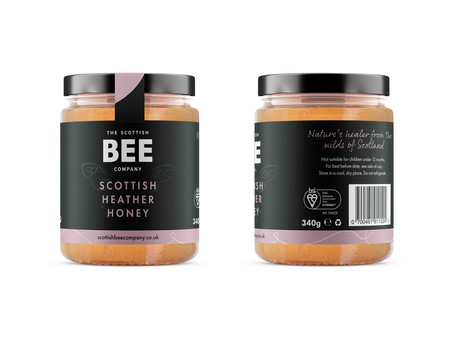 Scottish heather honey awarded UK's first BSI Kitemark™ for Food Assurance