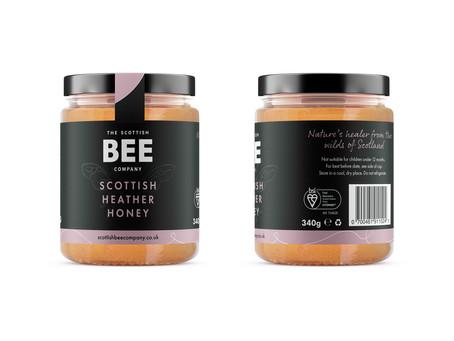 Scottish heather honey awarded UK's first BSI Kitemark™ for Food Assurance