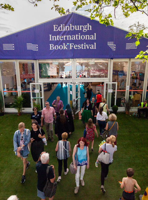 Edinburgh International Book Festival is here and things look a little different