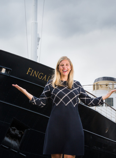 Scotland's luxury floating hotel sets sail with first 'Wellbeing Manager'