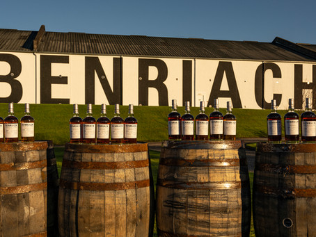 BENRIACH CASK EDITION COLLECTION CAPTURES FULL FLAVOUR PALETTE