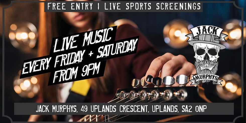 Uplands Live Music - Crab Island Co