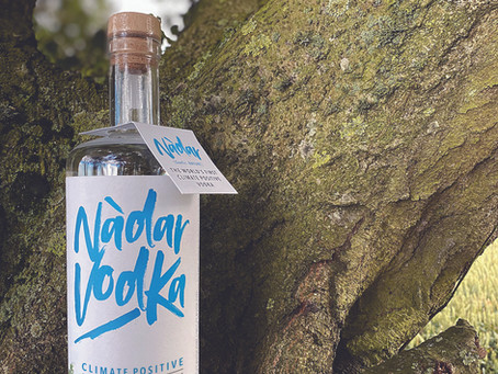 Arbikie celebrates Sustainable Spirits Day with launch of climate-positive spirit, Nàdar Vodka