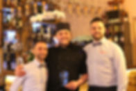 Fortunato and Ernesto with Chef.JPG