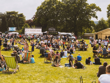 Food Festival comes to Dalkeith Country Park for the first time!