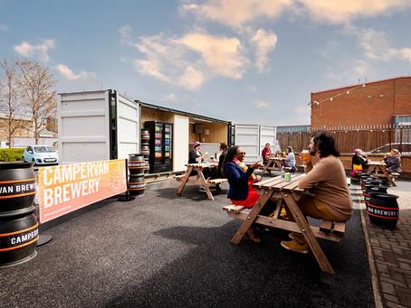 New Beer Garden  Opens In Leith