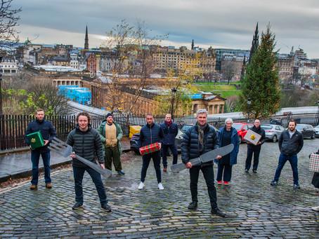 Scottish food stars spread festive cheer with 'Taste Edinburgh' campaign launch