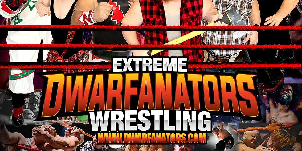 Extreme Dwarfanators Wrestling - Cardiff