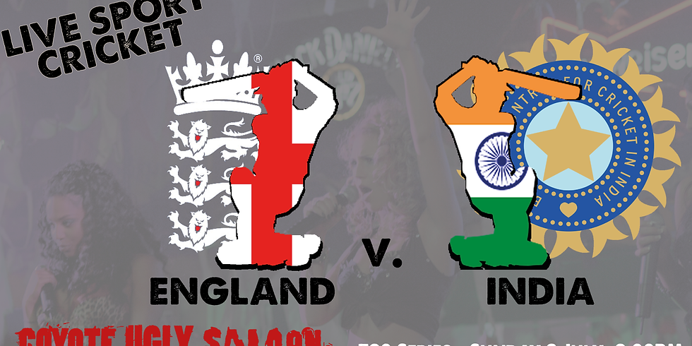 England v India - T20 Series