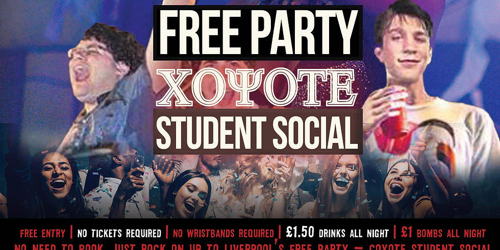 FREE PARTY - Coyote Student Social