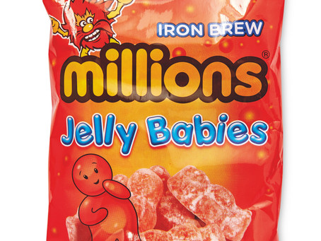 ALDI'S MILLIONS IRON BREW JELLY BABIES ARE BACK BY POPULAR DEMAND