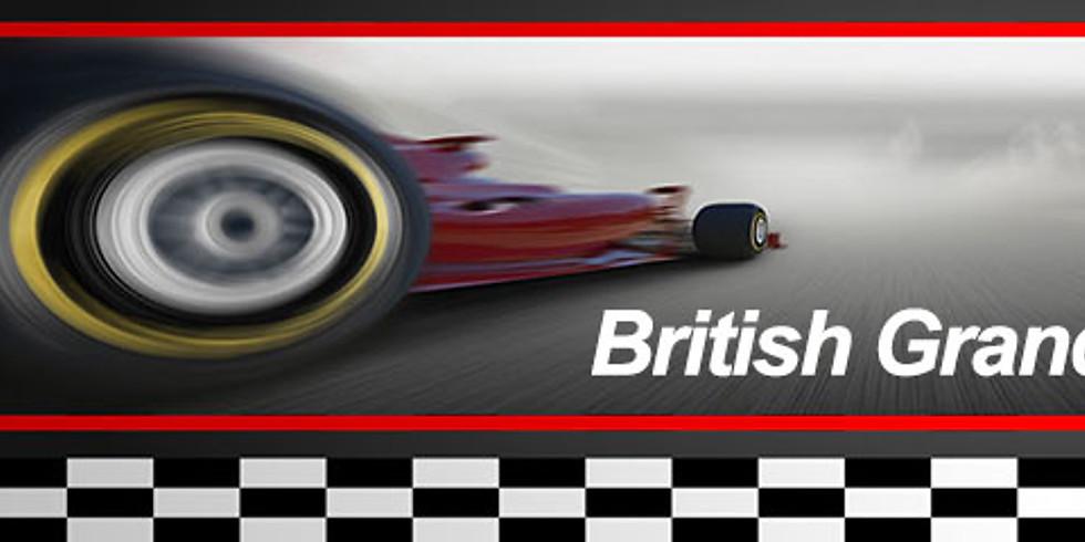 Live British Grand Prix