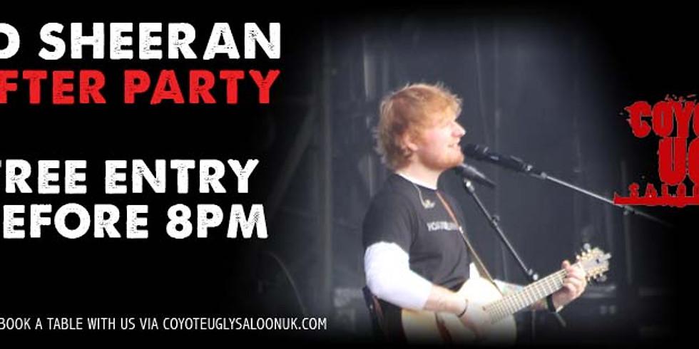Ed Sheeran After Party