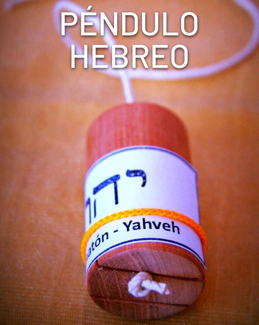 Sanación con péndulo hebreo