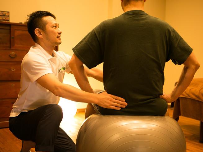 体幹もしっかりトレーニング