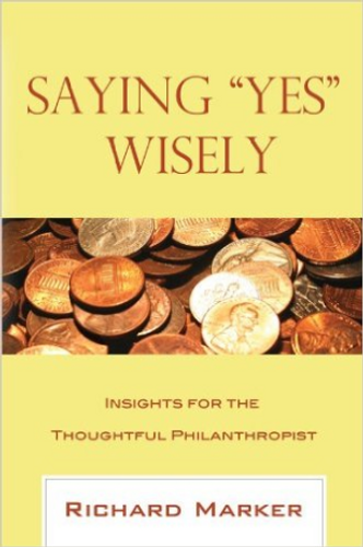 """Saying """"Yes"""" Wisely"""