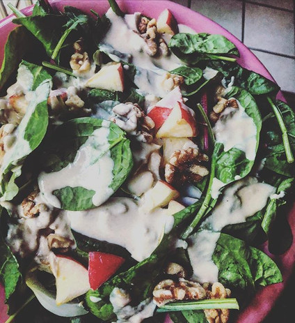 Because we love mixed green salads with