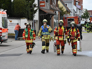 F3 Gebäudebrand