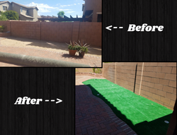 Before & After Turf