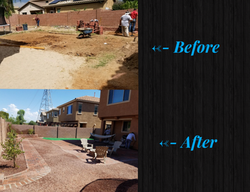 Before & After Backyard Remodel