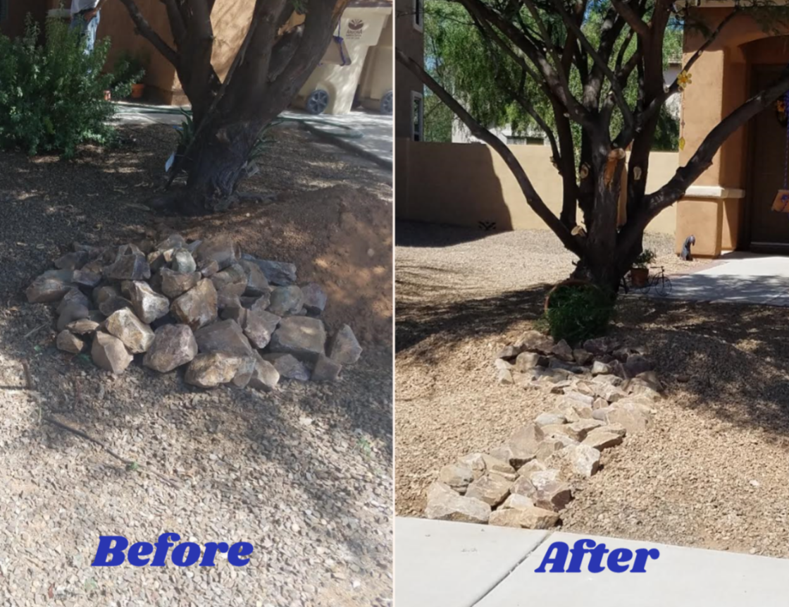 Before & After Landscape Design