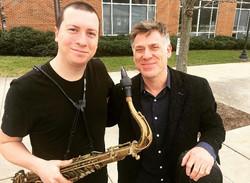 With Peter Bernstein