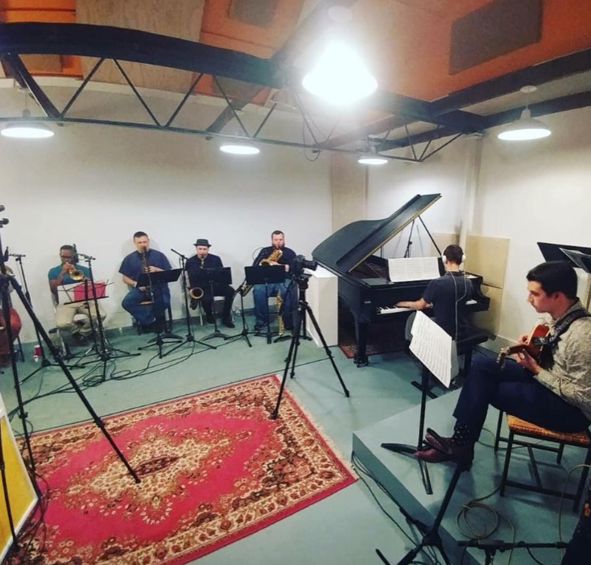Matson Nonet Recording Session