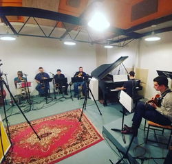 Matson Nonet Recording Session